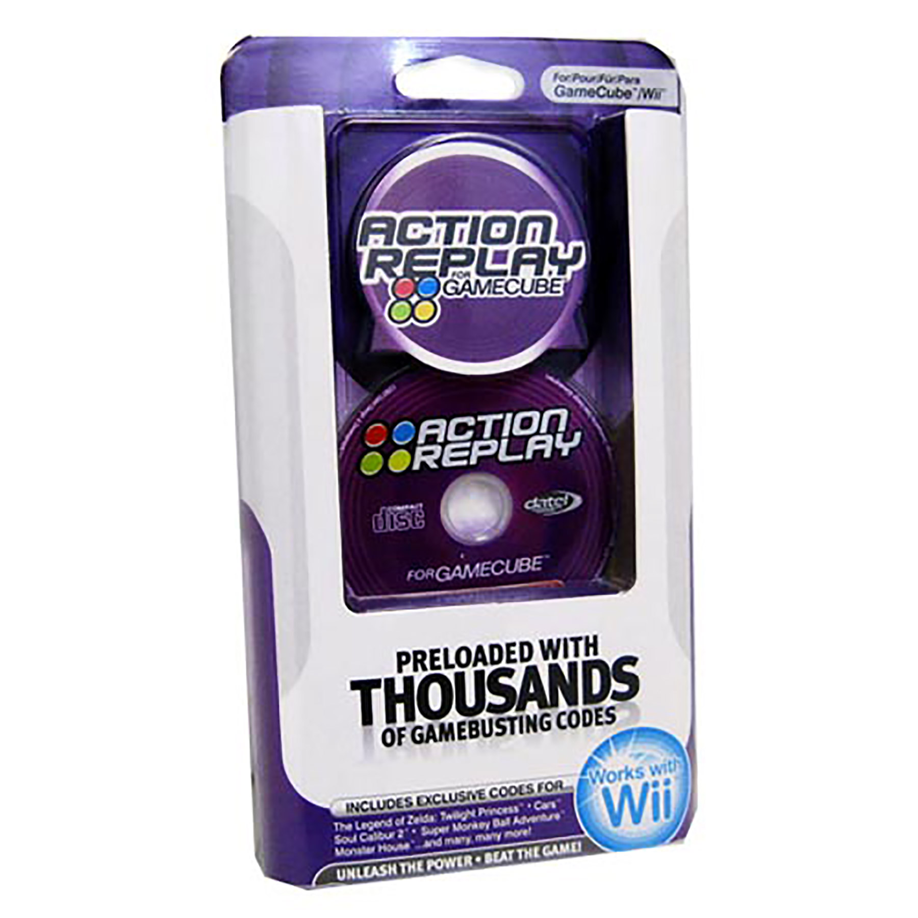 Gamecube Cheat Codes Device Action Replay (Datel)