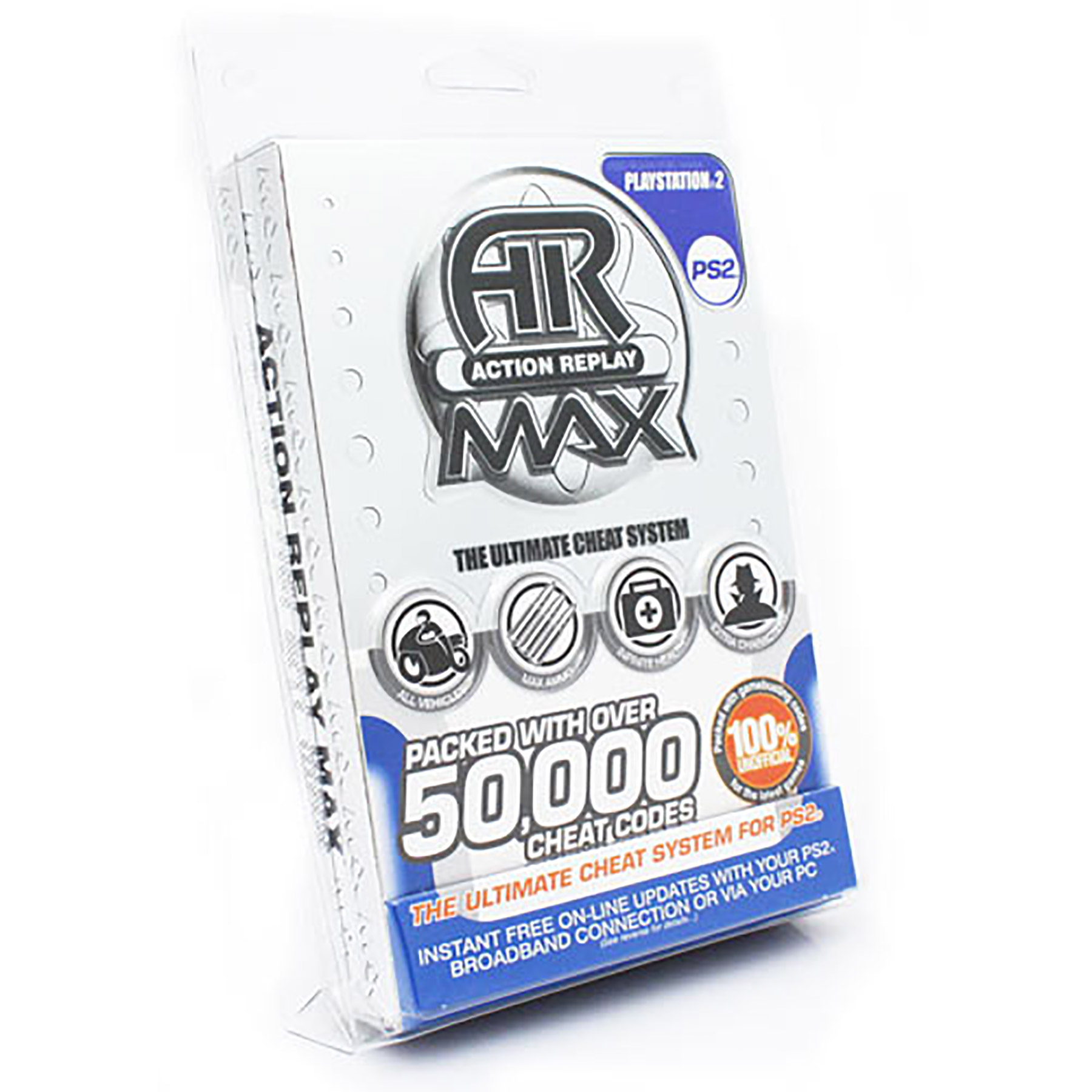 Action Replay Max AKA PS2 Action Replay Cheat Codes Device
