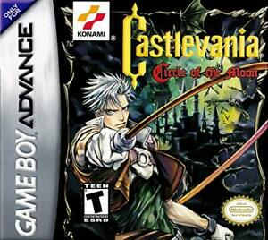 Game Only* AKA Castlevania Circle of the Moon Gameboy Advance