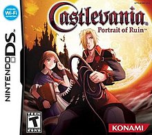 Castlevania Portrait of Ruin Nintendo DS (Game Only)