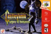 Game Only AKA Nintendo 64 Castlevania Legacy Of Darkness