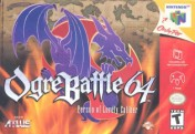 Nintendo 64 Ogre Battle 64: Person of Lordly Caliber () N64
