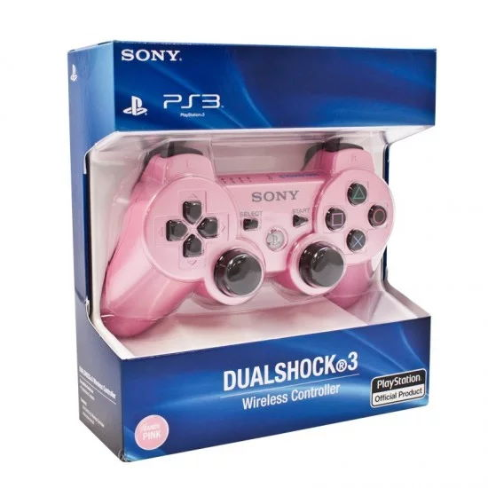 Dualshock 3 Pink Controller AKA Sony PS3 Pink Controller