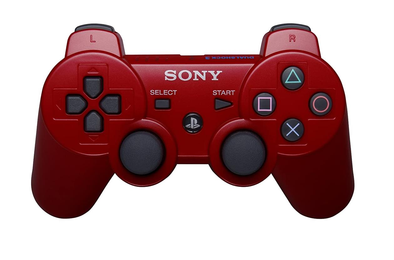 Playstation 3 Dualshock 3 in Red AKA Sony Red PS3 Controller