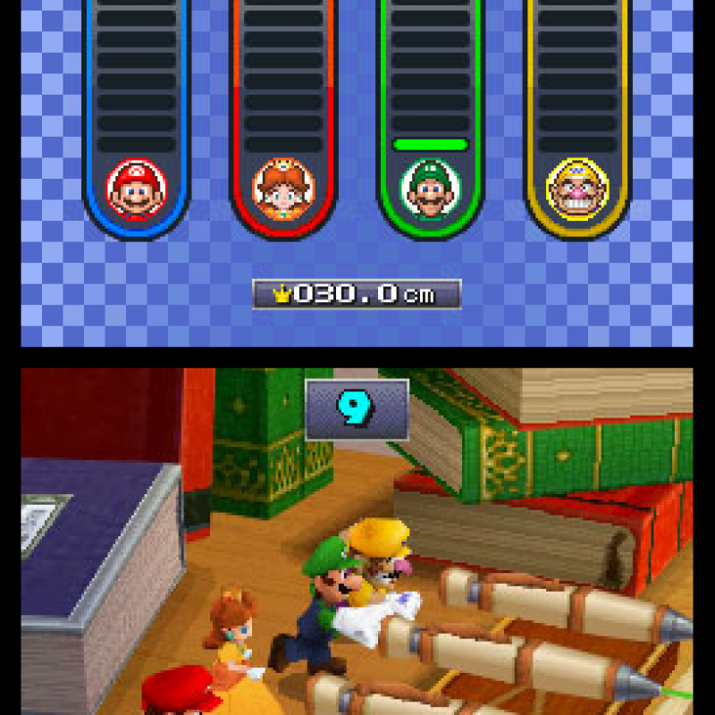 DS Mario Party AKA Nintendo DS Mario Party DS