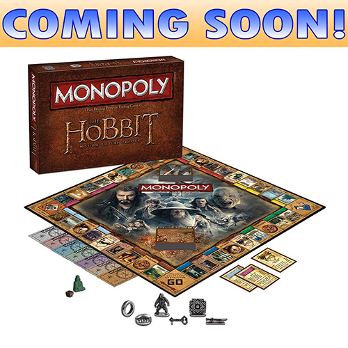 Toy Board Game The Hobbit Trilogy Monopoly