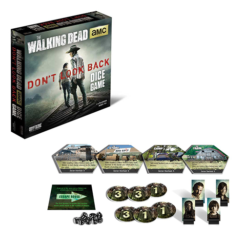 Toy Board Game The Walking Dead Don't Look Back Dice Game