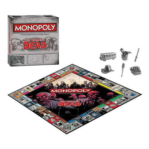 Toy Board Game The Walking Dead Monopoly