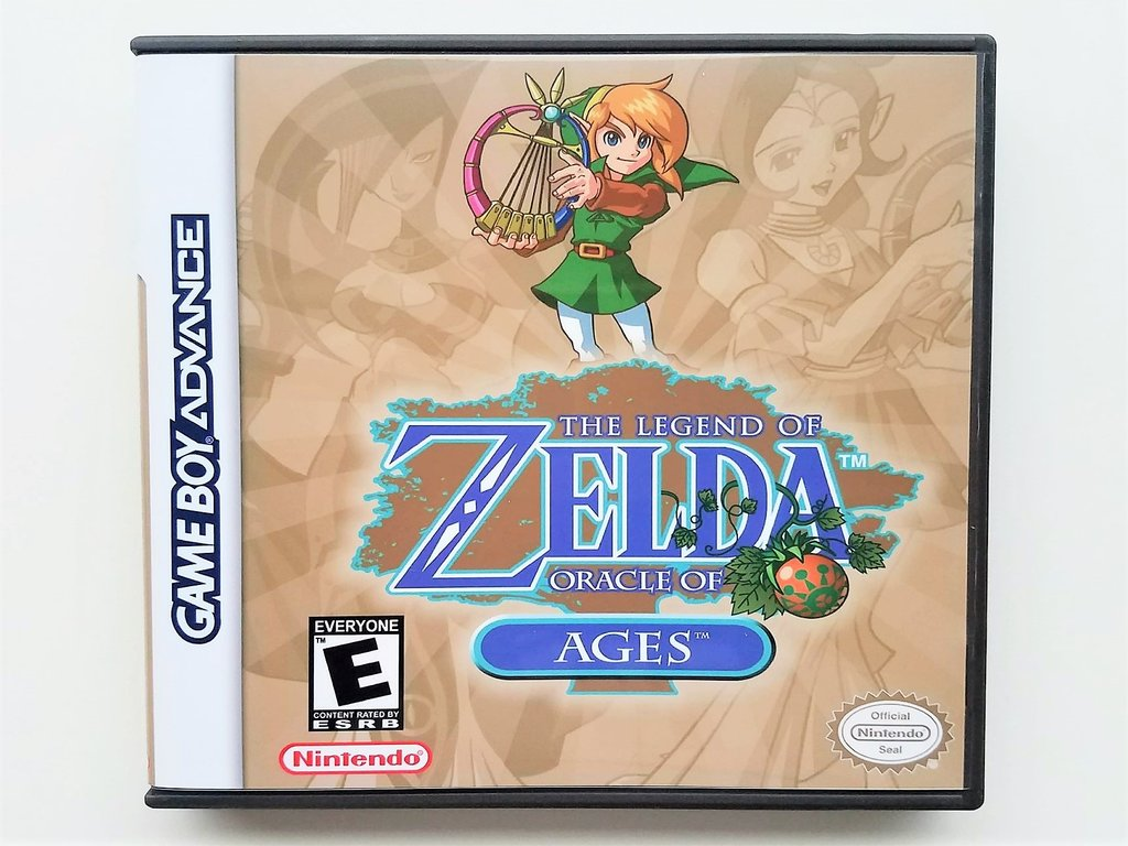 Gameboy Advance AKA The Legend of Zelda Oracle of Ages